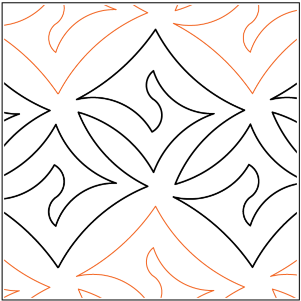Dazzle Quilting Design