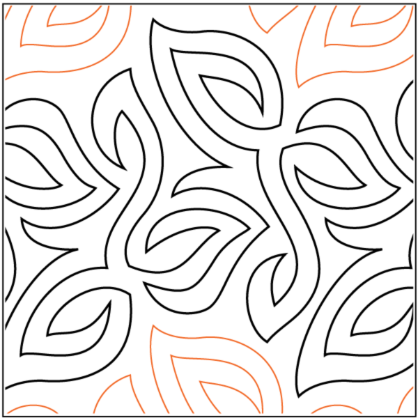 Ground Cover Quilting Design